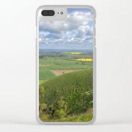 Farmlands. Clear iPhone Case