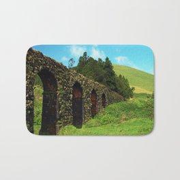 Aqueduct and pastures Bath Mat