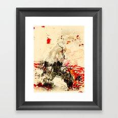 Hulking Framed Art Print