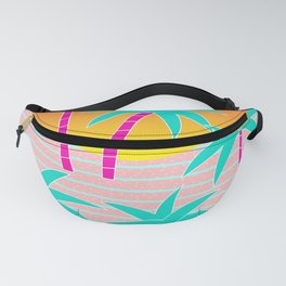 Hello Miami Sunset Fanny Pack