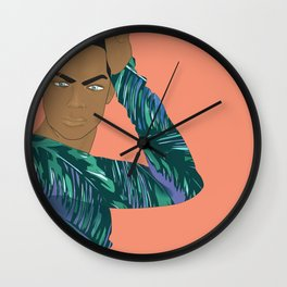 """Tropic Vibes"" Wall Clock"