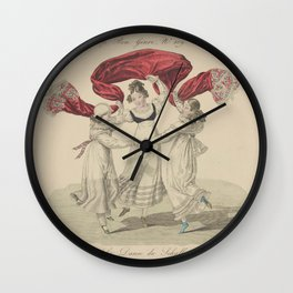 Lante Louis Marie b La Danse du schallAdditional Le bon genre Wall Clock