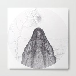 Hedge Witch Metal Print