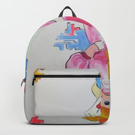 Damsel in distress syndrome Backpack