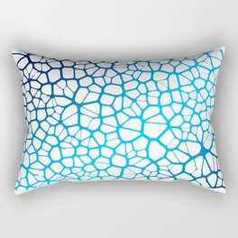 Abstract Neurons Network 2 Rectangular Pillow