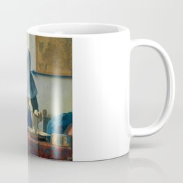 """Johannes Vermeer """"Young Woman with a Water Pitcher"""" Coffee Mug"""