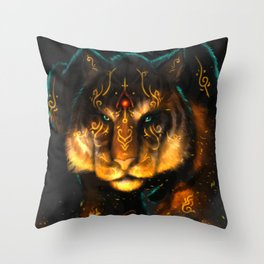 Guardian of the Fire Throw Pillow