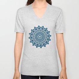 Zen Mandala (Serenity) Unisex V-Neck