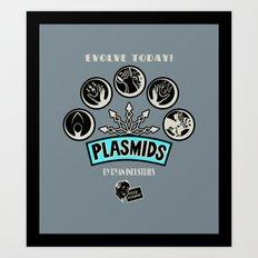 Plasmids Art Print
