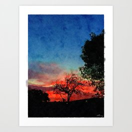 Mar Vista Dawn 2/15 Art Print