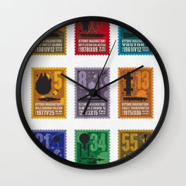 Beyond imagination Wall Clock
