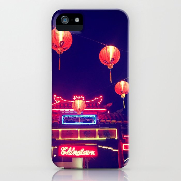 Down to Chinatown iPhone Case