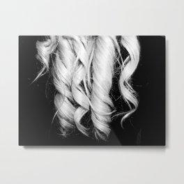 curls Metal Print
