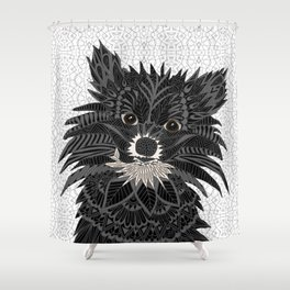 Pomeranian Puppy 2016 Shower Curtain