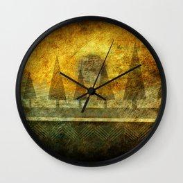 Powwow Wall Clock