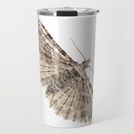 Montana Six-plumed Moth (Alucita montana) Travel Mug