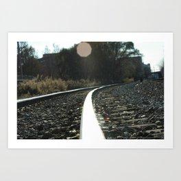 TrackIt Art Print