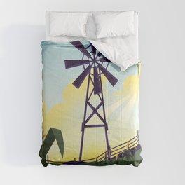 Rural Farmyard Comforters
