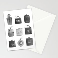 Flask Collection – Black Palette Stationery Cards