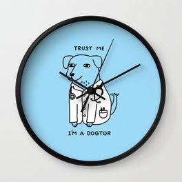 Dogtor Wall Clock