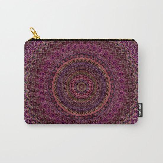Dark purple mandala Carry-All Pouch