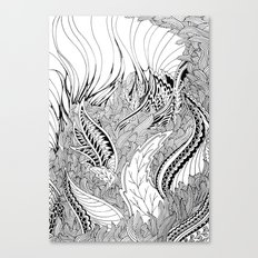 Enter the Forest Canvas Print