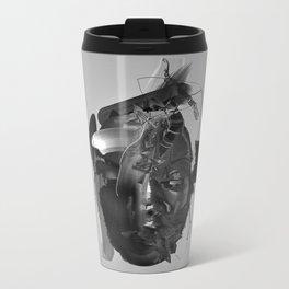 Emotional Reaction Metal Travel Mug