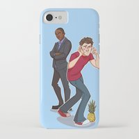 psych iPhone & iPod Cases featuring Psych! by ashley sanborn