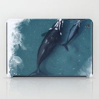 whales iPad Cases featuring whales by Daniela Di Gennaro