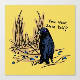 Sum Tail Canvas Print