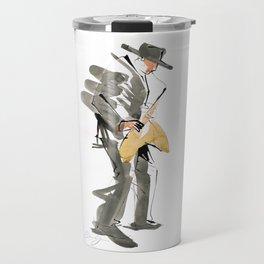 Musician Jazz Saxophone Travel Mug