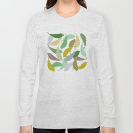 Falling Leaves Long Sleeve T-shirt