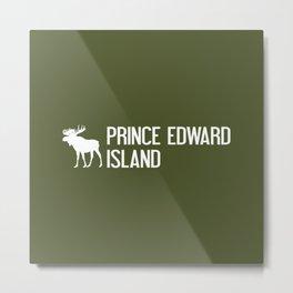Prince Edward Island Moose Metal Print