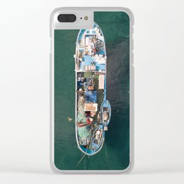 fishing today Clear iPhone Case