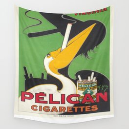 Vintage poster - Pelican Cigarettes Wall Tapestry