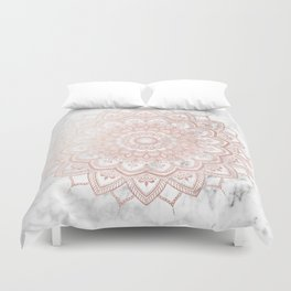 Pleasure Rose Gold Duvet Cover