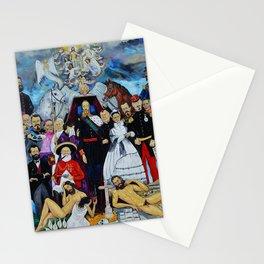 Requiem for an Emperor Requiem para un Emperador by Juan Manuel Rocha Kinkin Stationery Cards