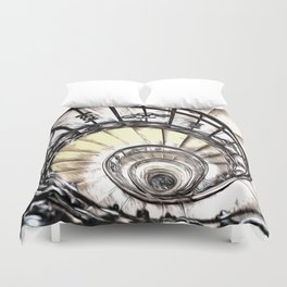 The Spiral Staircase Duvet Cover