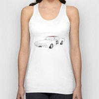 general Tank Tops featuring General Lee by Martin Lucas