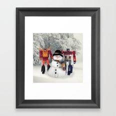 Prime Time Snow Framed Art Print