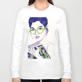 Clio; Musae of History Long Sleeve T-shirt