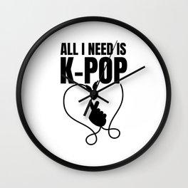 K-Pop Korea   Korean K-Drama Asia Gifts Wall Clock