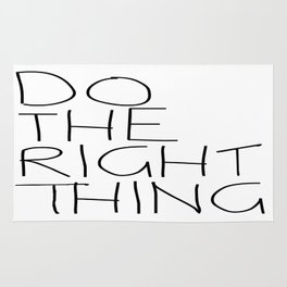Do The Right Thing Rug