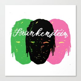 Triple Frankenstein Canvas Print