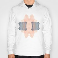 rorschach Hoodies featuring Rorschach by Tooth & Nail Designs