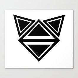 triangle neko Canvas Print