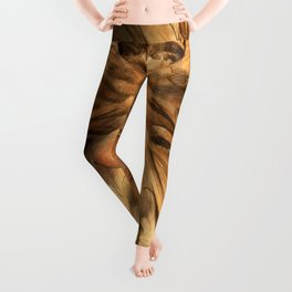 "William Blake ""The Great Red Dragon and the Woman Clothed in Sun"" Leggings"