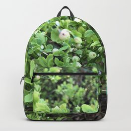 Green forest berries Backpack