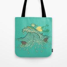 Surfin' Soundwaves Tote Bag