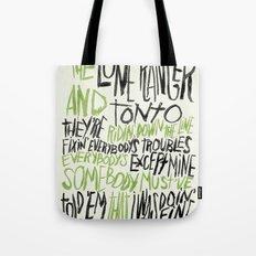 LONE RANGER Tote Bag